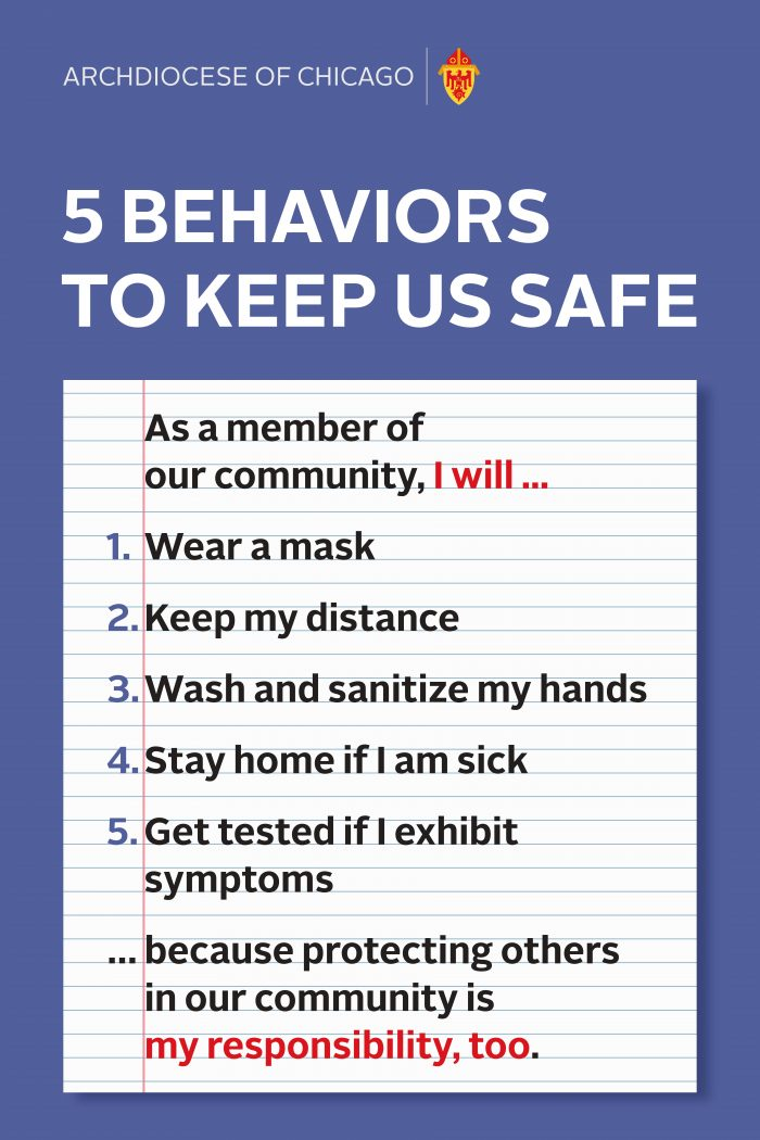 5 Behaviors to Keep us Safe