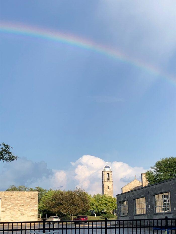 Rainbow Over OLW